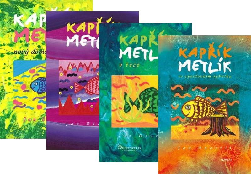 Balíček - Všechny 4 díly dobrodružství kapříka Metlíka